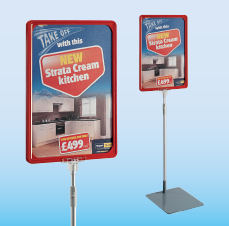Show Card Stands & Frames