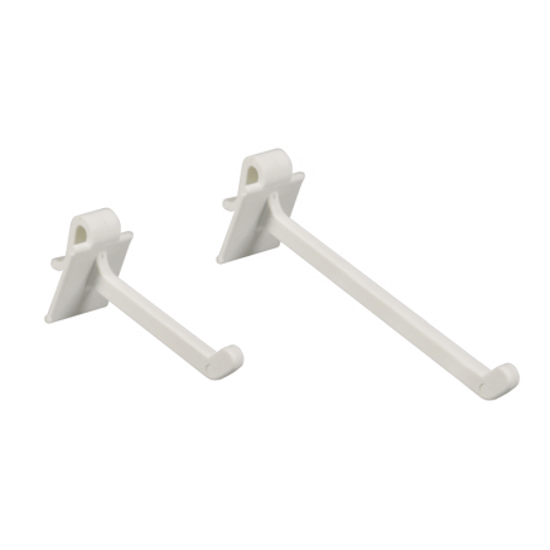 Multi purpose hooks in two lengths