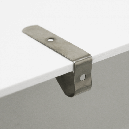 Shelf Edge Spring Clips x 100