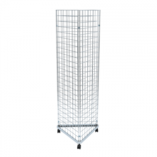 Three Sided Gridwall Stand for a triple sided gridwall display