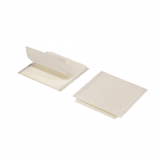 Double Sided Adhesive Foam Pads x 6 With Cleansing Wipe
