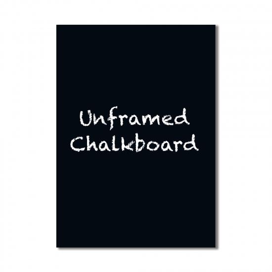 Unframed Chalkboard