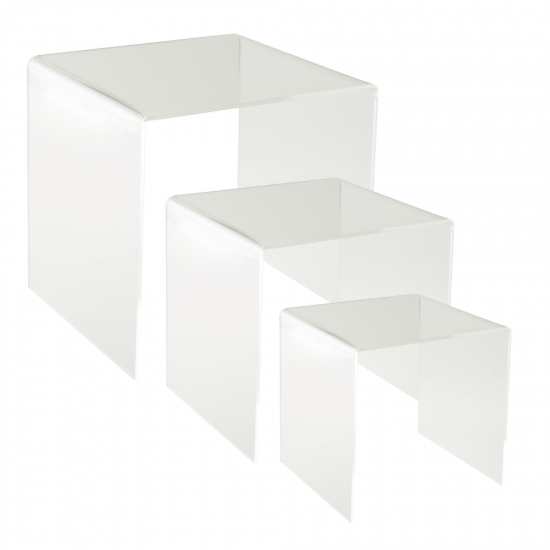 Cubic Clear Acrylic Display Bridge Set