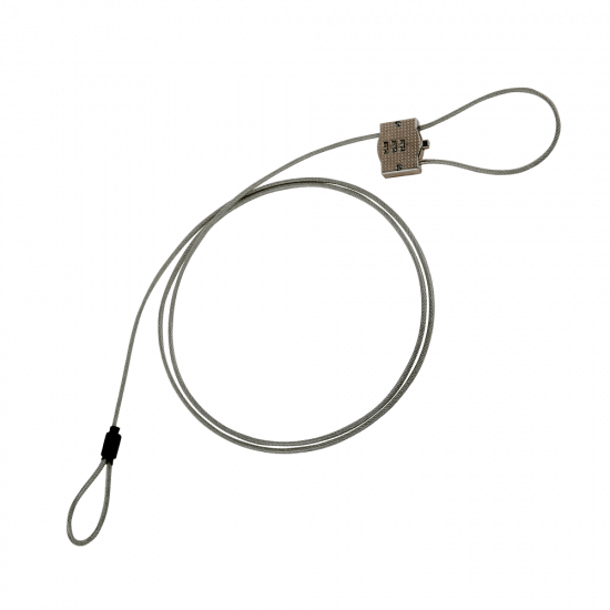 Steel Security Cable Lock for POS Displays