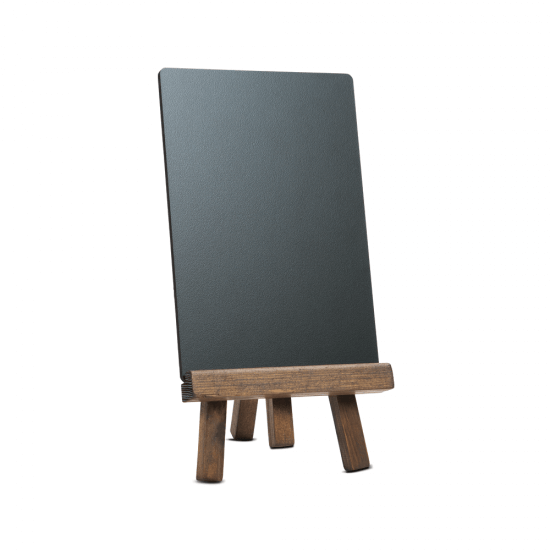Tabletop Wooden Easel Menu Board