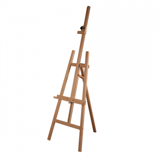 A Frame Wooden Easel with Clamp
