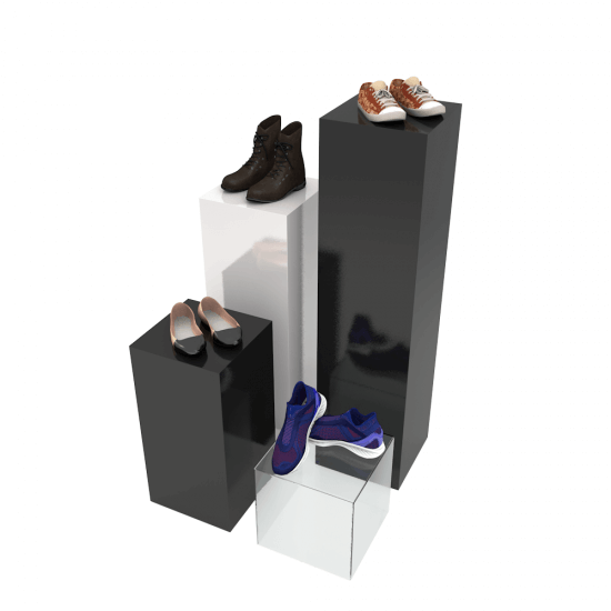 Pedestal Display Stand family
