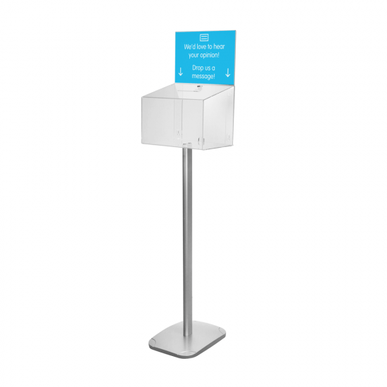 Free Standing Ballot Box with Lock