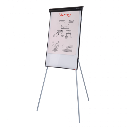 Economy Flip Chart Easel and Magnetic Whiteboard