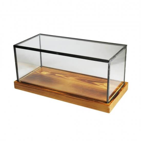 Rectangular Glass Display Case - Small (GBW01)
