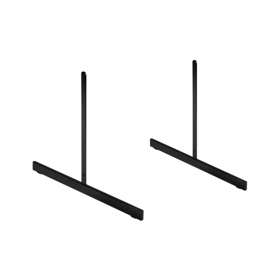 Black Standard T Legs For Grid Mesh x 2