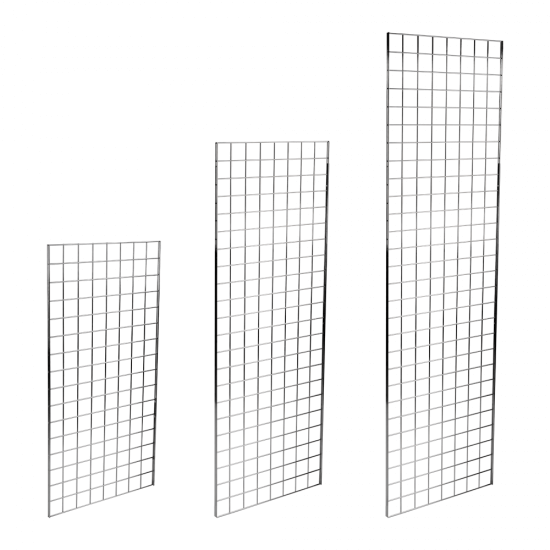 Gridwall mesh panels available in various sizes