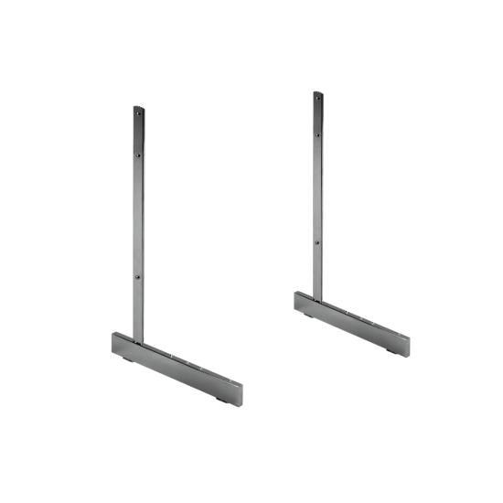 Standard Gridwall L Legs x 2 Single Sided Chrome