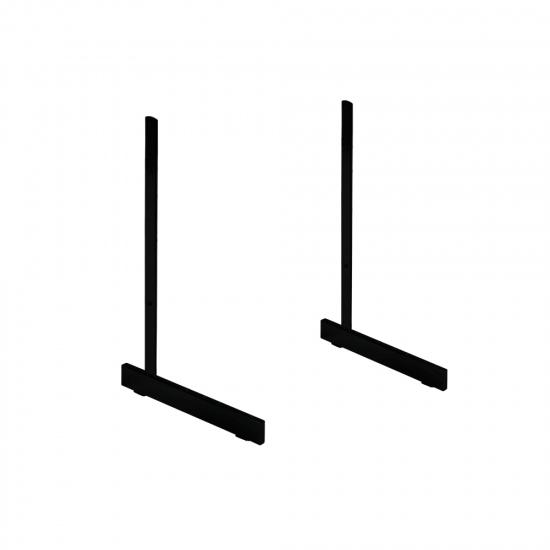 Black Standard L Legs For Grid Mesh x 2