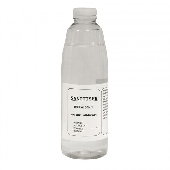 Liquid Hand Sanitiser 80% Alcohol Hand Sanitizer