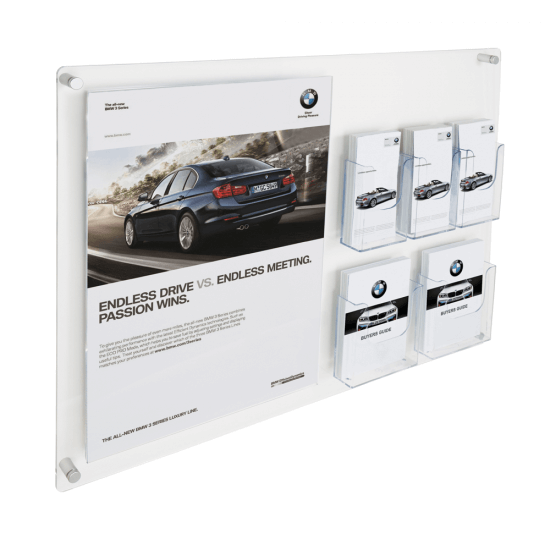 Wall Mounted Information Display Board