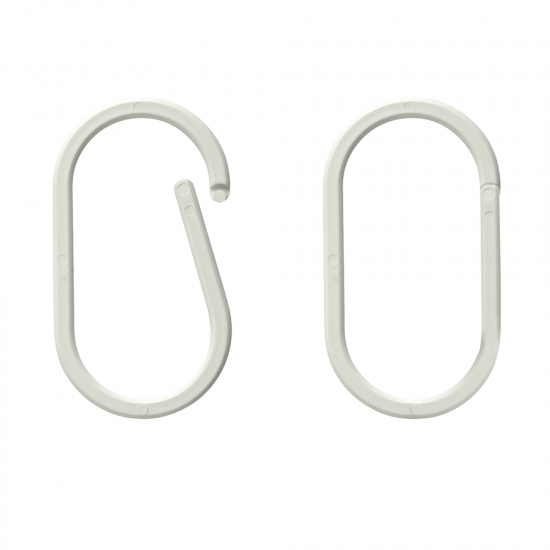 Oval Hanging Rings x 100