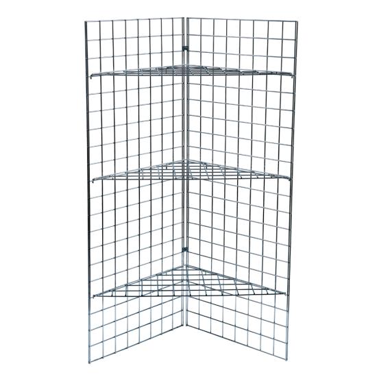 5ft Gridwall Corner Display Unit