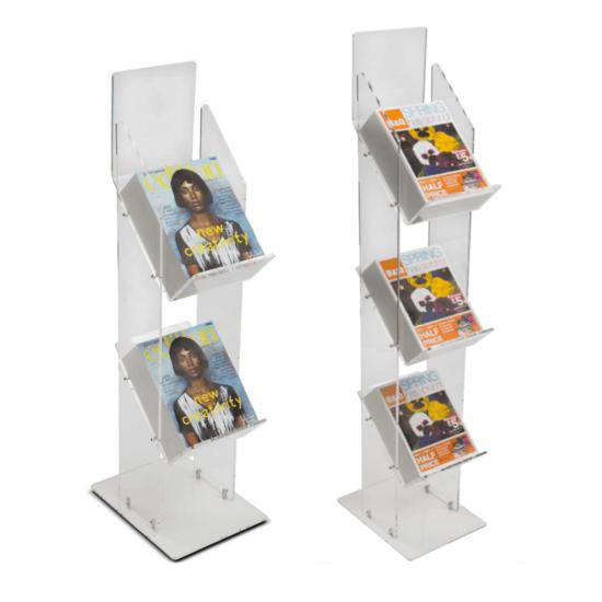 Tiered Magazine Stand