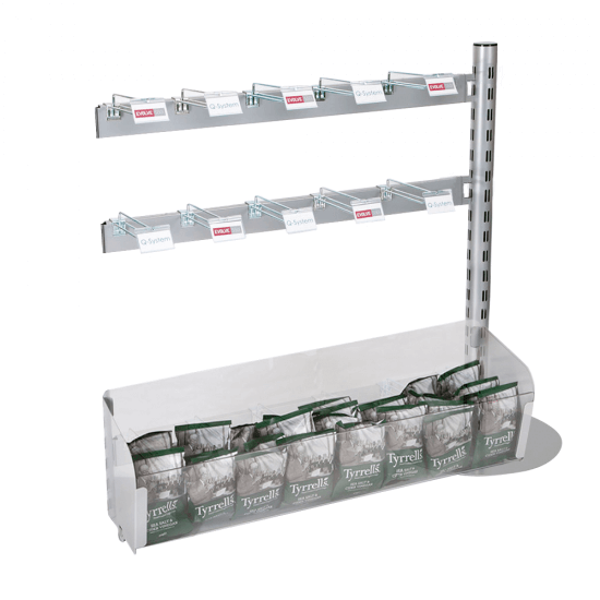 Hooks and Tub Merchandising Queue System Extension Kit