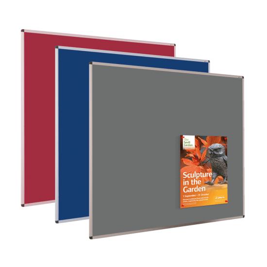 Aluminium Framed Felt Notice Board