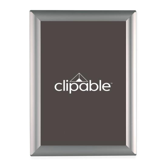 Snap Frame Silver countertop poster frames