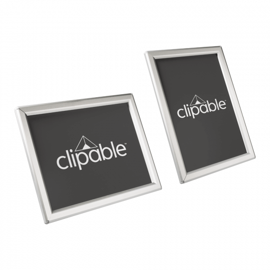 Snap Frame Silver 15mm Frame