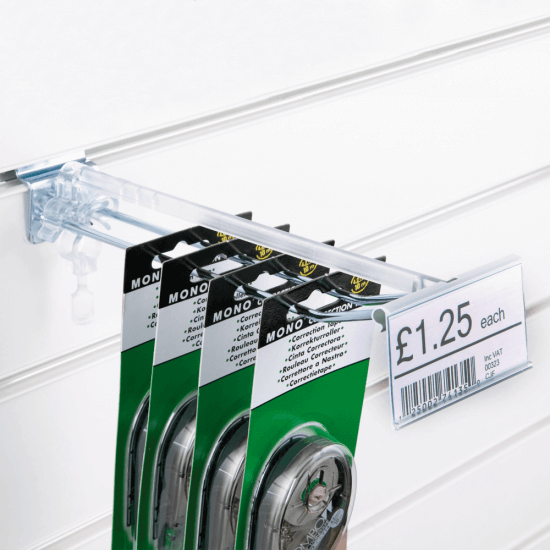 Merchandising Hook Label Holder