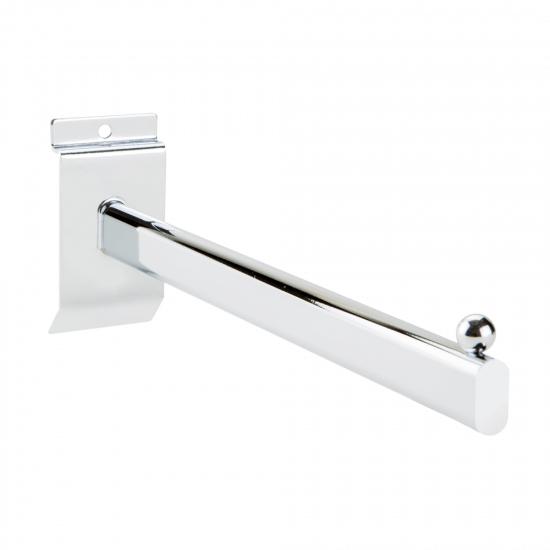 Hook Arm Rail for slatwall display