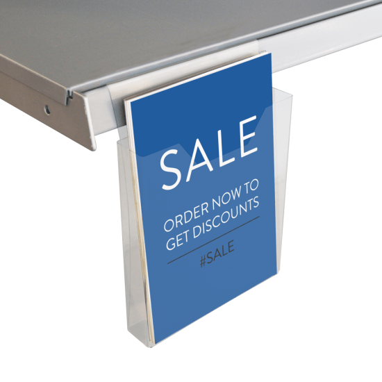 A5 Scanning Rail Leaflet Holder