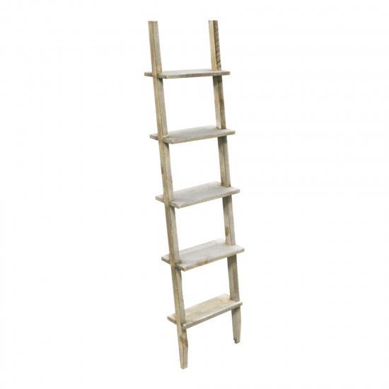 Rustic Wooden Display Ladder