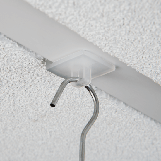 Suspended ceiling hangers x 100 (hooks supplied separately)