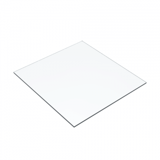 Clear Acrylic Square Panel