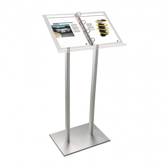 Lectern display menu stand