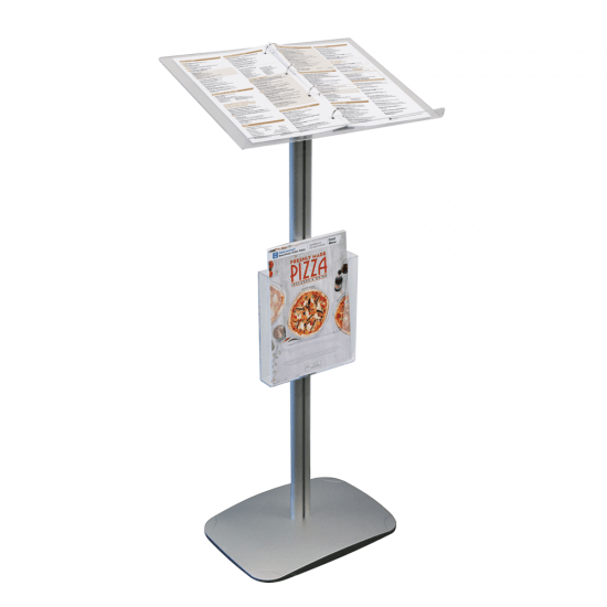 Menu stand otherwise known as a restaurant lectern or lectern display