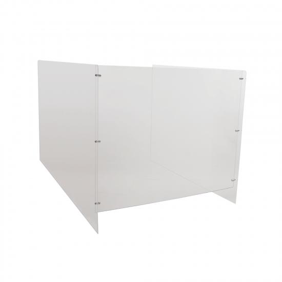 Clear Acrylic Office Desk Divider