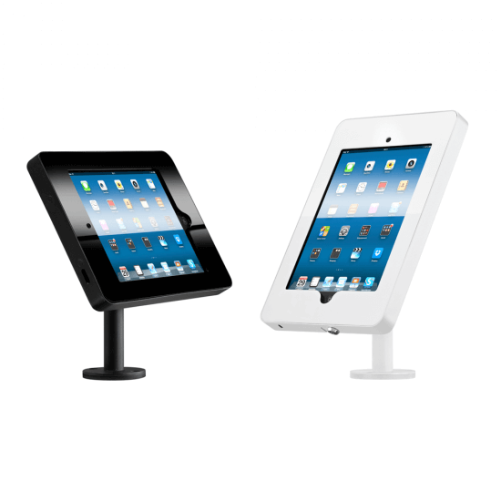 Tabletop iPad Stands - portrait/landscape adjustable