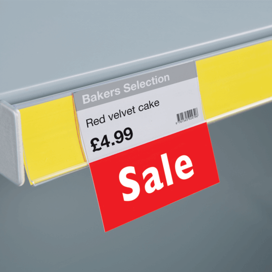 Sale Printed Shelf Talker