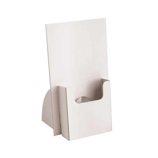 Cardboard Leaflet Holder