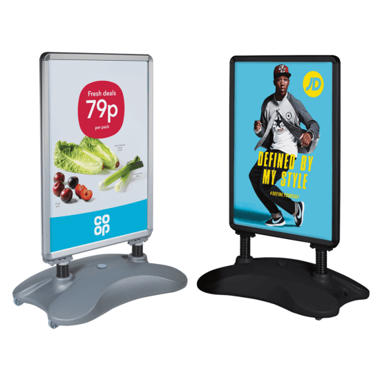 The Water Base Pavement Sign is our best selling model