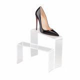 Acrylic Shoe Display Bridge in a choice of two sizes