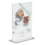 PS8038 Double Sided Freestanding Poster Holder A7 Port