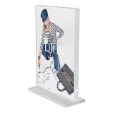 Premium Supervue Acrylic Poster Display Block