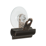 Suction Cup with Bulldog Clip