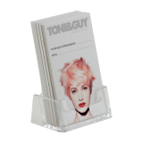 Portrait Business Card Holder Counter Standing