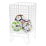 Wire dump baskets for retail displays