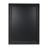 Large Framed Chalkboard with Black A2 Frame