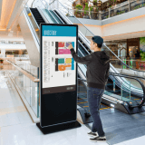Touchscreen Digital Display Totem ideal for retail and hospitality