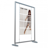 Freestanding Cable Poster Kit 12 A4 Posters for multi poster display