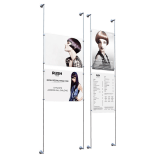 Wall Mounting Cable Poster Kit